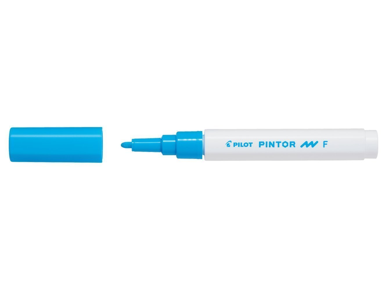 PILOT PINTOR MARKER FINE TIP LIGHT BLUE