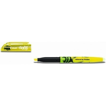 PILOT FRIXION LIGHT MED TIP YELLOW