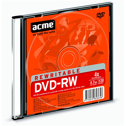 ACME DVD-RW REWRITABLE 4,7GB 4X 1 PCE