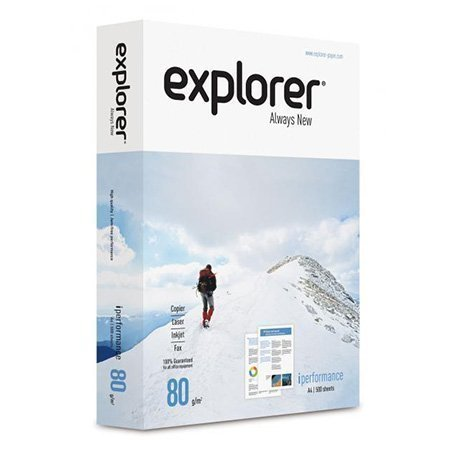 EXPLORER I-PERFORMANCE COPY PAPER A4 80GSM 500 SHEETS