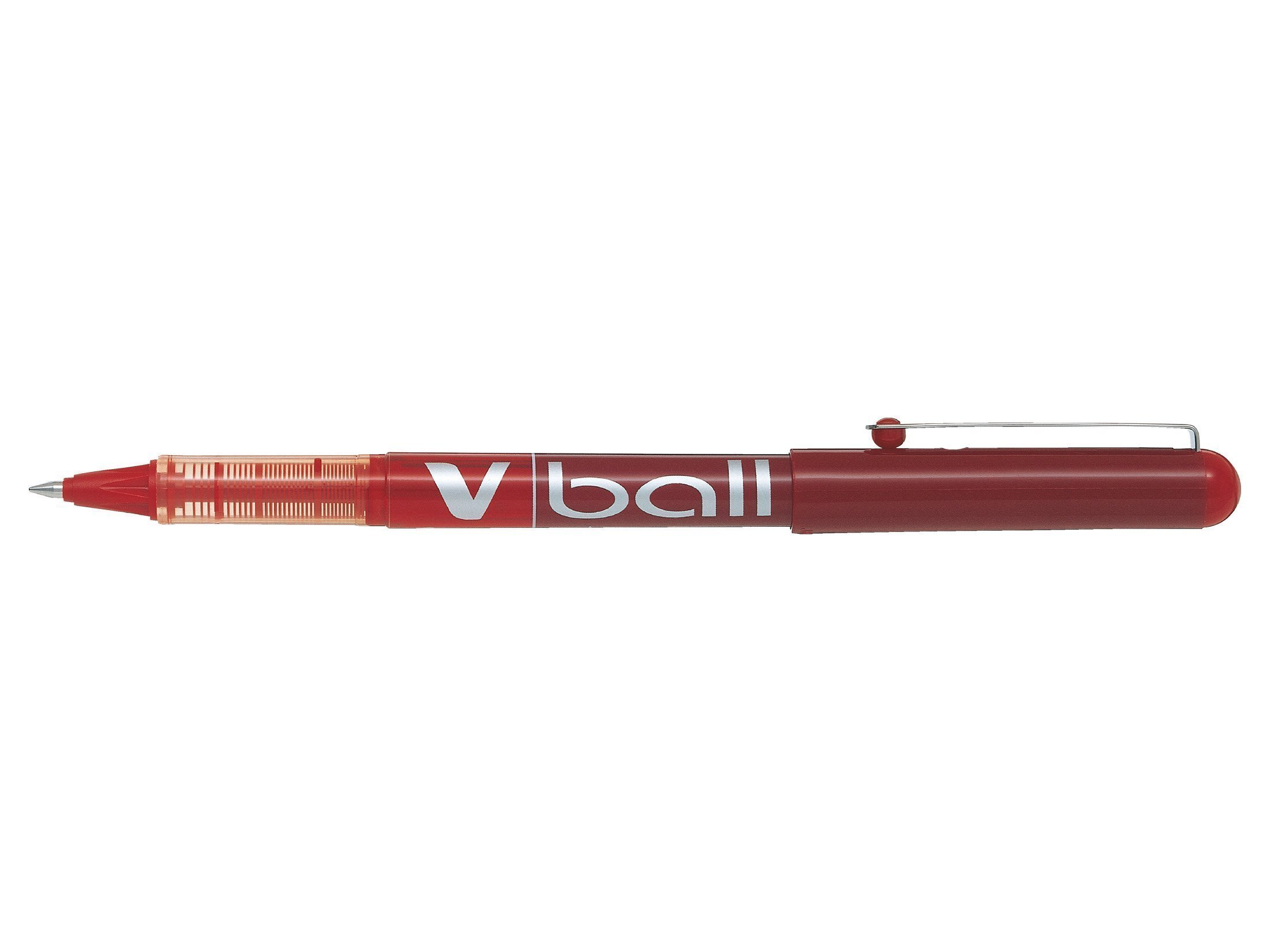 PILOT V BALL 0.5MM RED