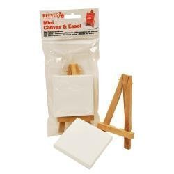 REEVES MINI CANVAS & EASEL
