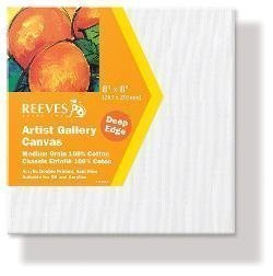 REEVES GALLERY DEEP EDGE CANVAS 8X8 INCH 20X20CM