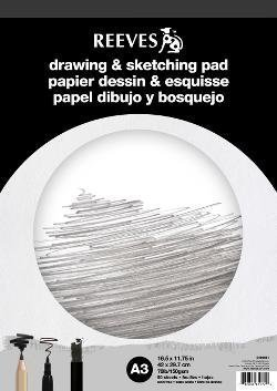 REEVES DRAWING & SKETCHING PAD A3