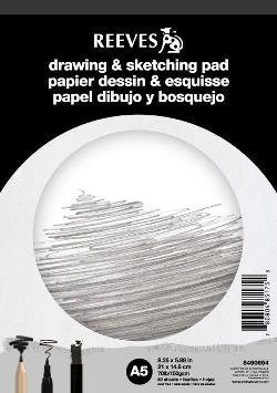 REEVES DRAWING & SKETCHING PAD A5