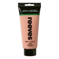 REEVES  ACRYLIC COLOUR 200ML FLESH TINT 210