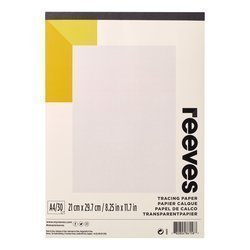 RVS PAD TRACING PAPER 62 GRAMS A4 30 PAGES