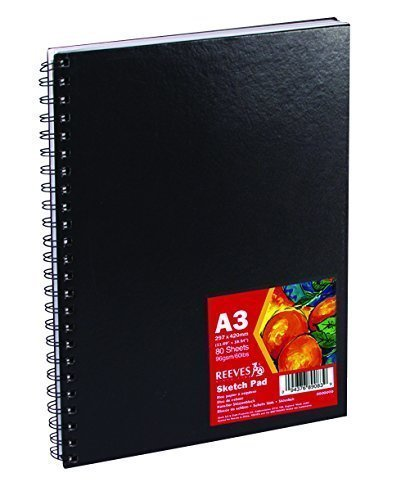 REEVES SPIRAL BOUND SKETCH PAD A3