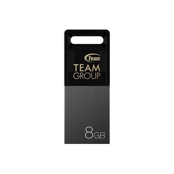 TEAM USB 2.0 FLASH DRIVE 8GB GREY