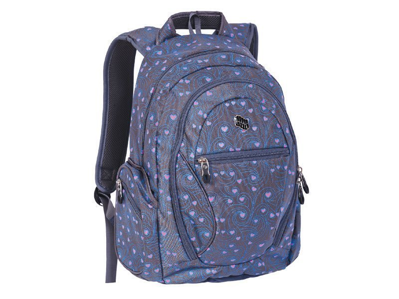 PULSE BACKPACK DOBBY MAZE HEART X20382