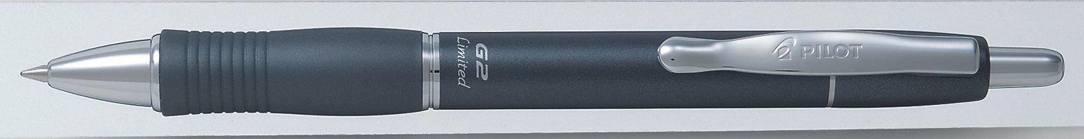 PILOT G2 LIMITED 0.7MM METAL GREY PCE