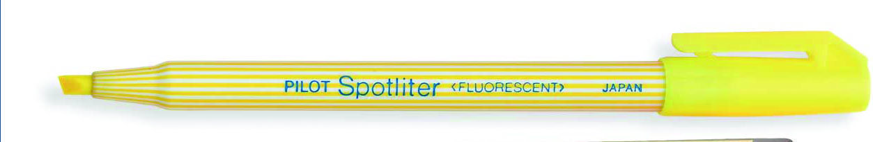PILOT SPOTLITER YELLOW