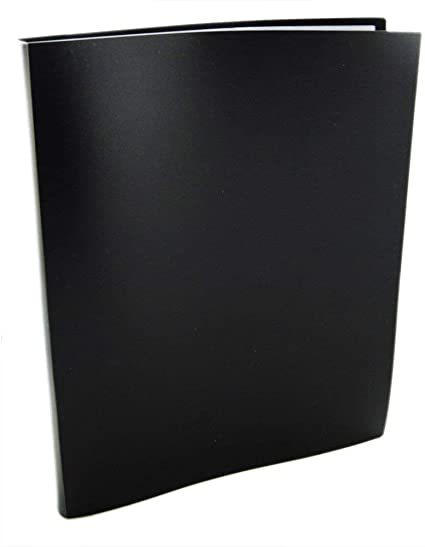 ALPHA A4 CLEAR FILE 60 SHEETS BLACK