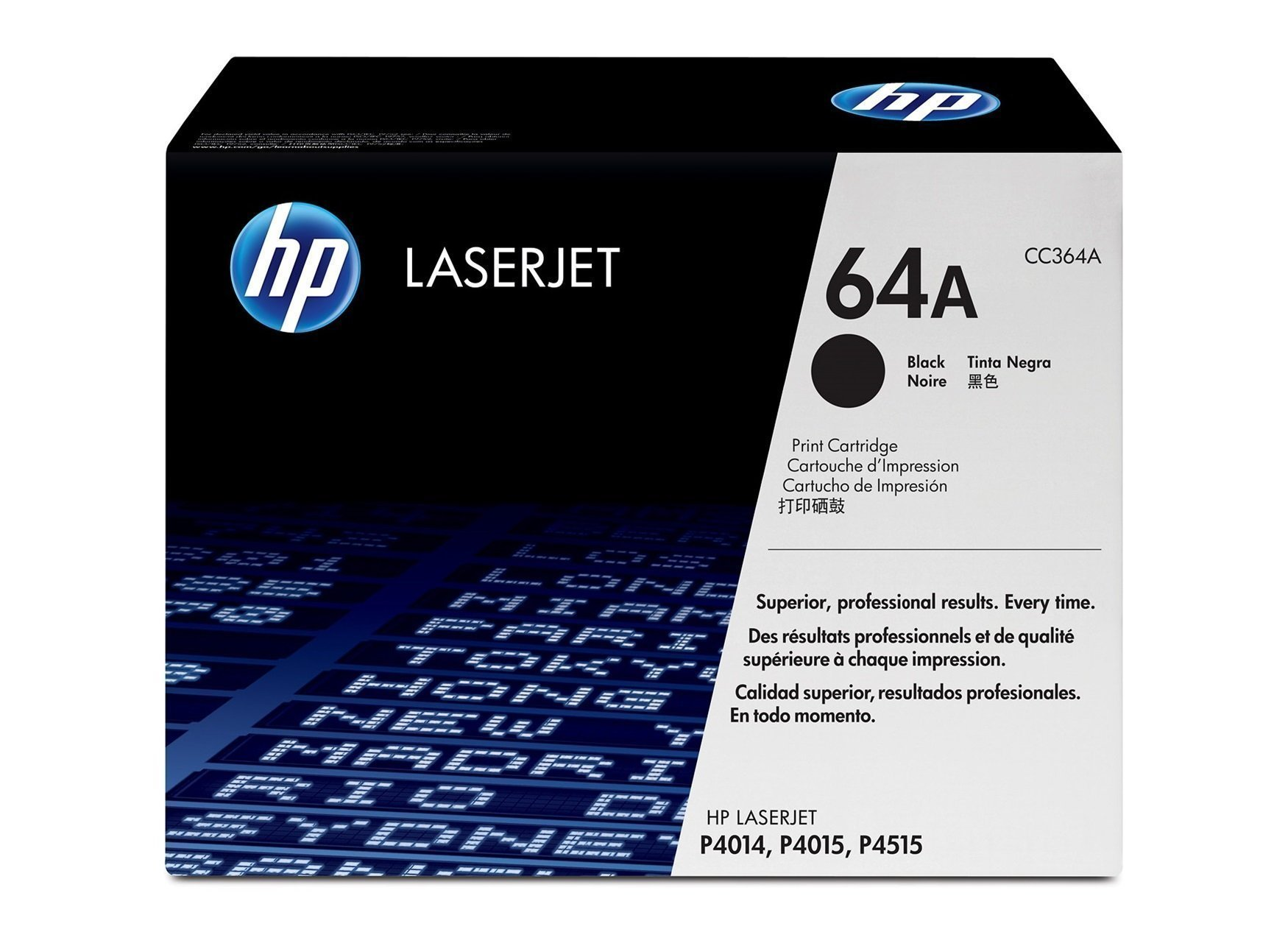 HP INK LASER JET  BLACK CC364A