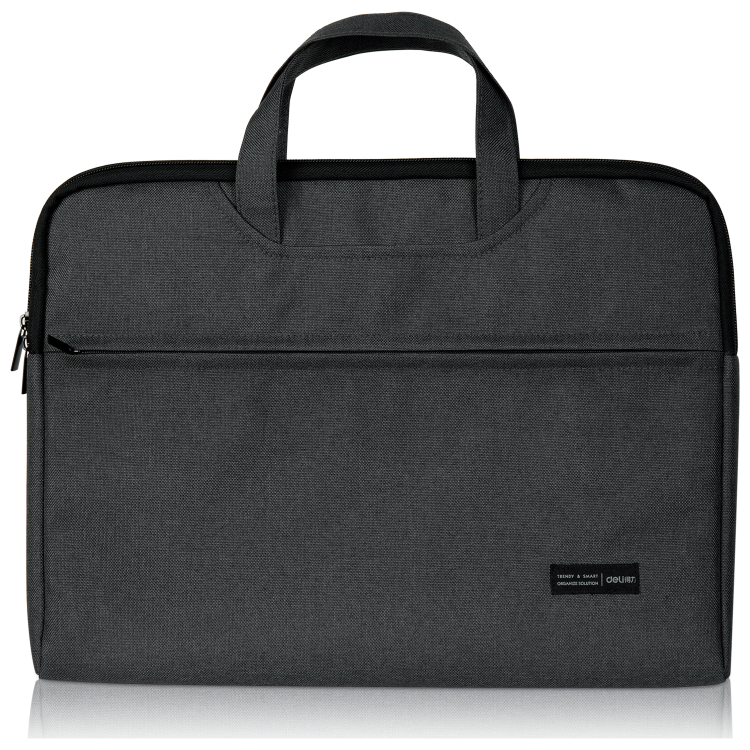DELI OFFICIAL BRIEFCASE - POLYESTER MATERIAL (OXFORD CLOTH) FOR HIGH RESISTANCE USAGE