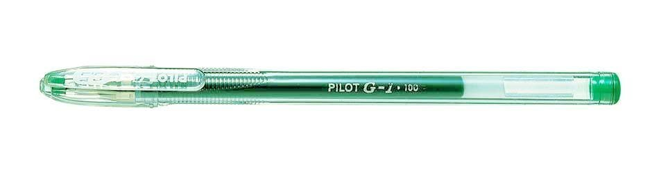 PILOT BALLPOINT PEN GEL L.GREEN