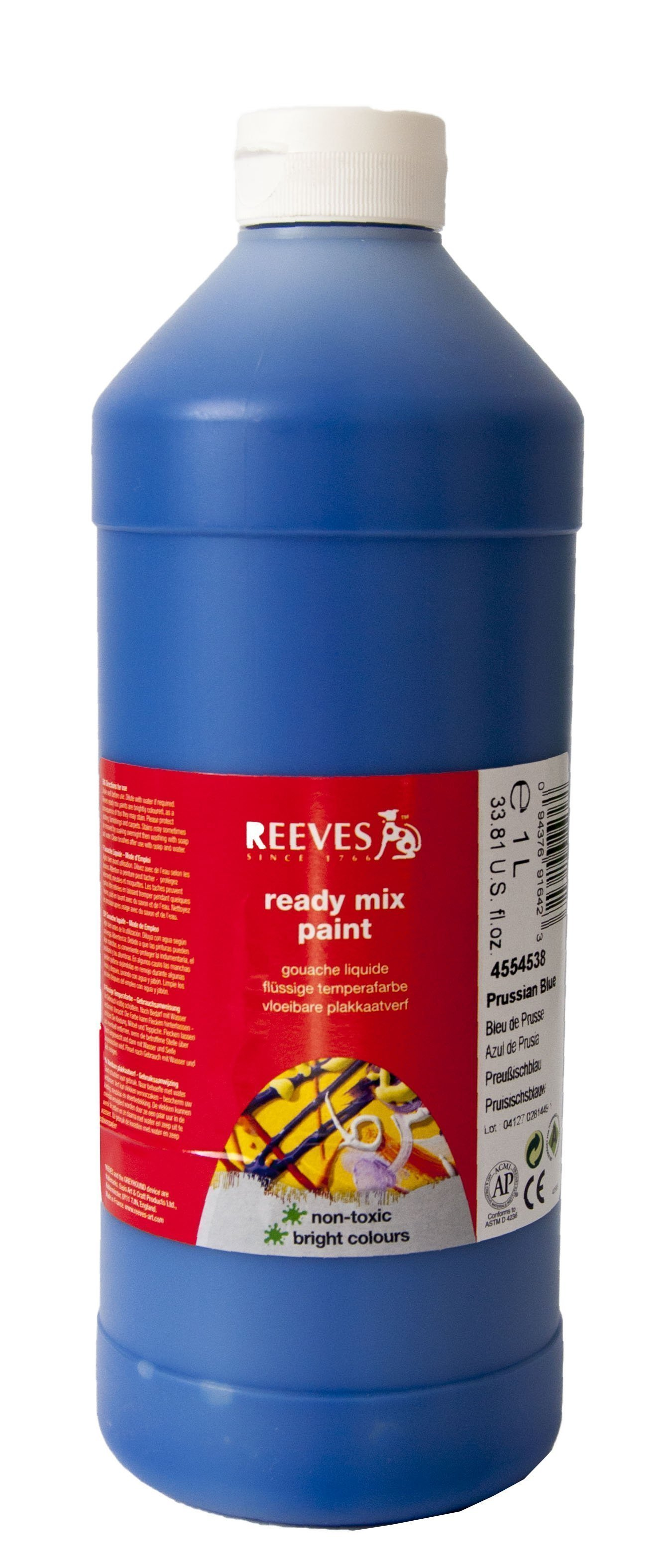 REEVES READIMIX 1000 ML PRUSSIAN BLUE