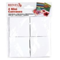 REEVES 4 MINI CANVASES