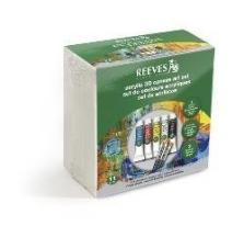 REEVES CANVAS CUBE SET