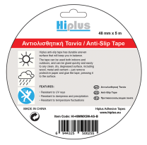 HIPLUS ANTI SLIP TAPE 48MMX5M BLACK