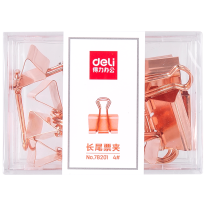 DELI BINDER CLIPS - ROSE GOLD - 25MM #4