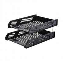 DELI HIPS 2-TIER FILE TRAY