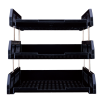 DELI HIPS 3-TIER FILE TRAY