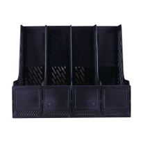DELI MAGAZINE HOLDER - 4 PARTS - BLACK