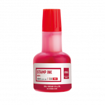 DELI FAST DRY STAMP INK 40ML RED