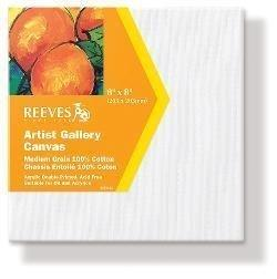 REEVES GALLERY CANVAS 8X8 INCH 20X20CM