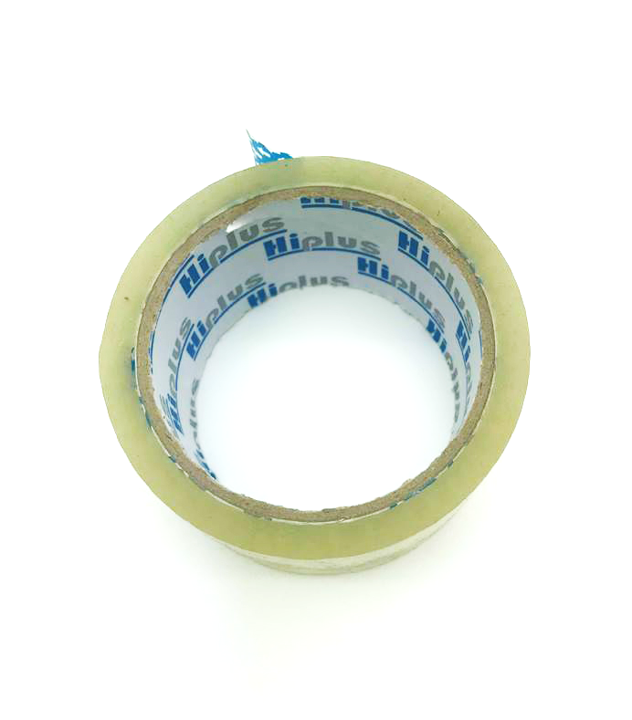 HIPLUS OPP PACKING TAPE (Low-noise) 48MM X 50M  Transparent