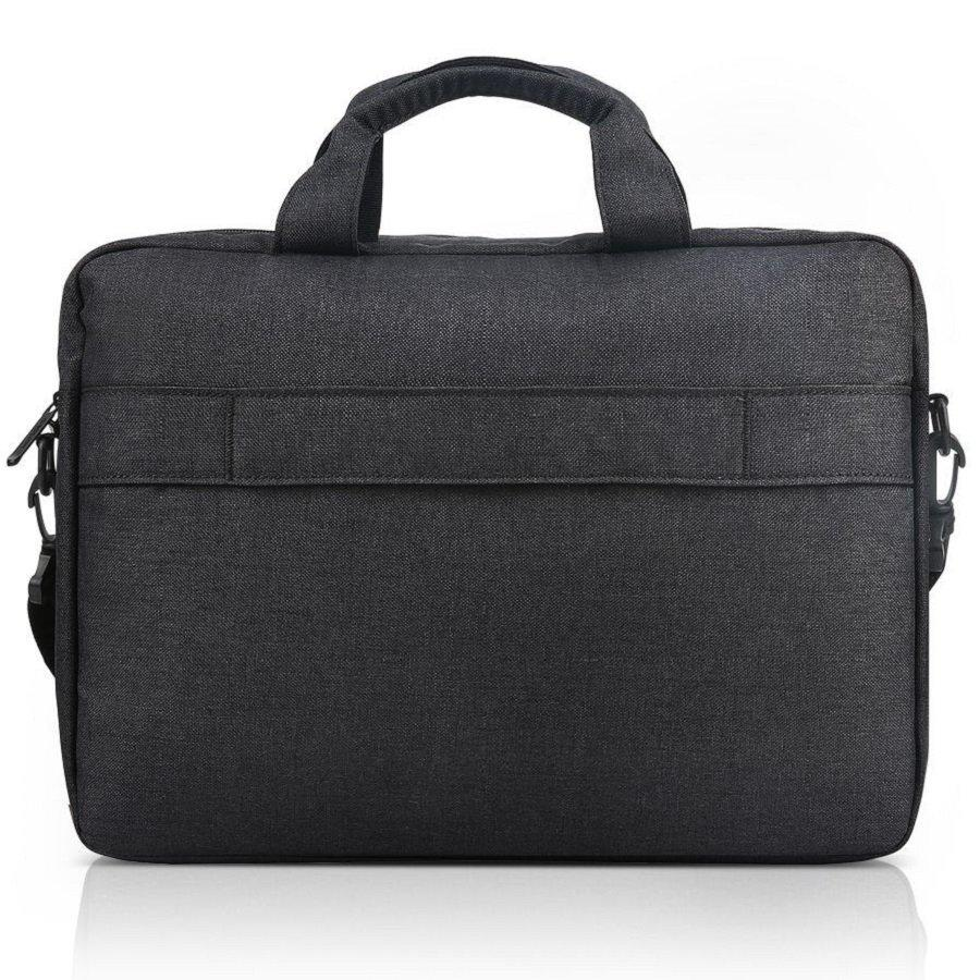 "LENOVO CASUAL TOPLOADER T210 FITS UP TO SIZE 15.6"" BLACK, LAPTOP MESSENGER BRIEFCASE"