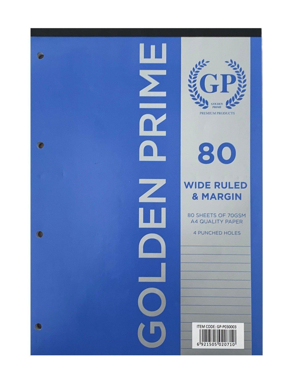 Golden Prime -  REFILL PAD A4 160 PAGES