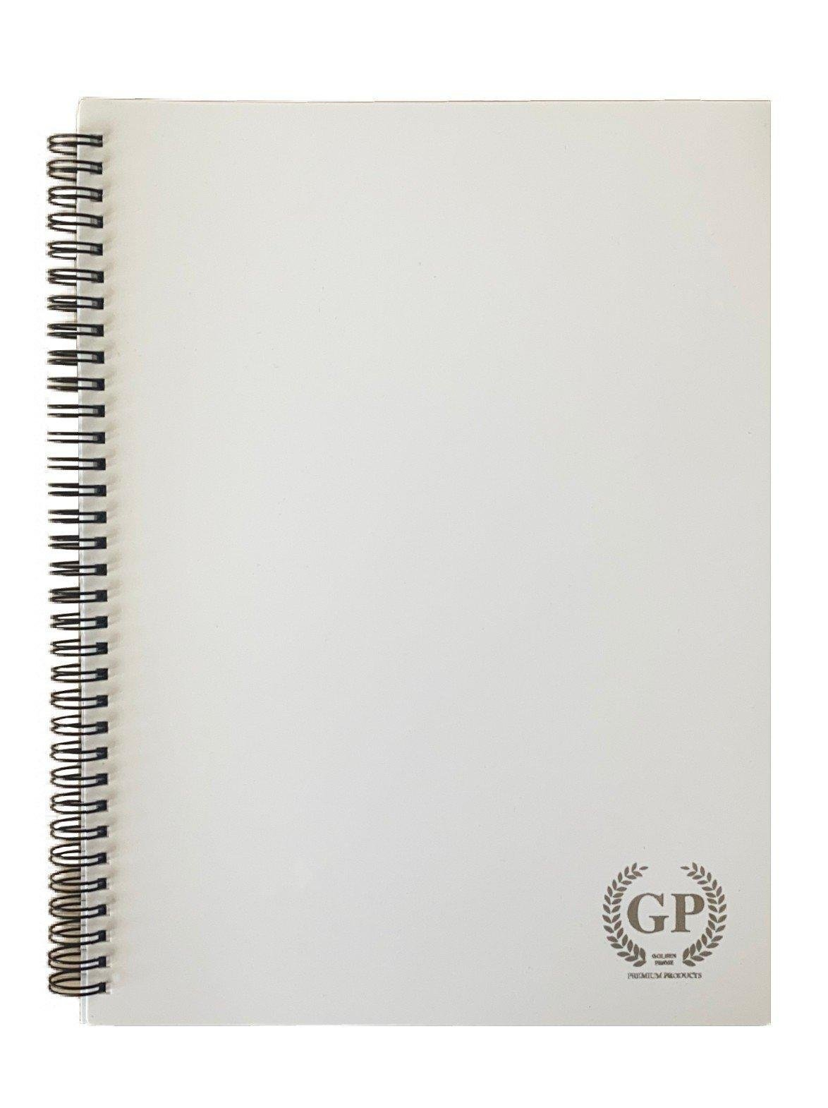 Golden Prime -  PP WIRE-O NOTEBOOK - A6 - 70 SHEETS - ASSORTED PASTEL COLOURS