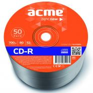 ACME CD-R 700MB 52X RECORDABLE 50 PCS PACK