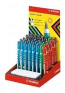 STABILO WORKER COLORFUL DISPLAY OF 40 PCS