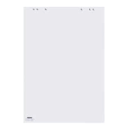 DAHLE FLIP CHART PAD 68X99MM 20SHEETS 80GSM  6 HOLES