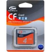 TEAM COMPACT FLASH 4GB 133X
