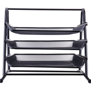 DELI 3-TIER MESH FILE TRAY