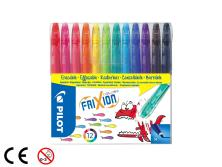 PILOT FRIXION COLORS - 12PCS SET