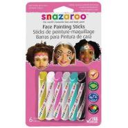 SNAZAROO FACE PAINTING STICKS GIRLS