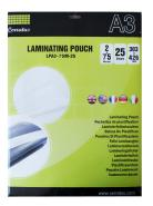 LAMINATING POUCH A3 75MIC 25 SHEETS