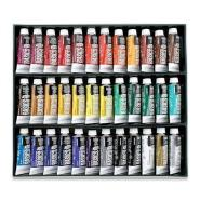 LQX BASICS ACRYLIC COLOUR SET OF 36X22ML