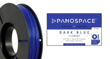 PANOSPACE FILAMENT PLA 1.75MM BLUE 326G