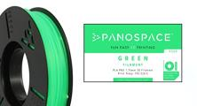 PANOSPACE FILAMENT PLA 1.75MM GREEN 326G
