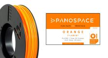PANOSPACE FILAMENT PLA 1.75MM ORANGE 326G
