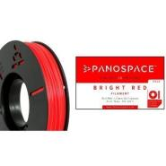 PANOSPACE FILAMENT PLA 1.75MM RED 326G