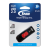 TEAM USB 2.0 USB FLASH DRIVE 8GB RED
