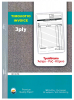 INVOICE BOOK 50 SHEET 3-PLY NCR
